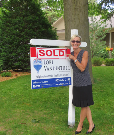 Lori Sold Millcroft Home